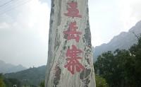 游五岳寨:我眼中的雾霭,便是你们说的云海?
