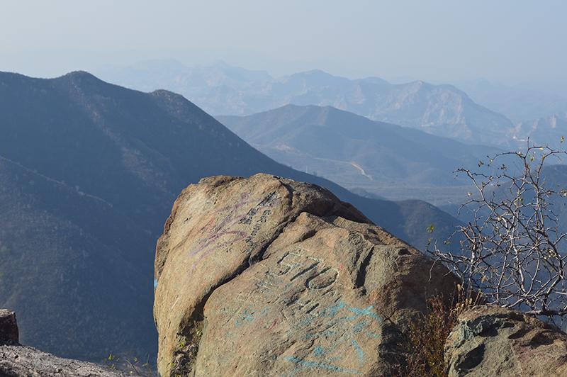 西山森林公园海拔570米
